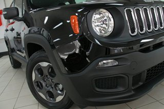 2017 Jeep Renegade BU MY17 Sport DDCT Black 6 Speed Sports Automatic Dual Clutch Hatchback.