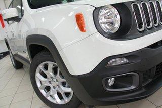 2017 Jeep Renegade BU MY17 Longitude DDCT Alpine White 6 Speed Sports Automatic Dual Clutch.
