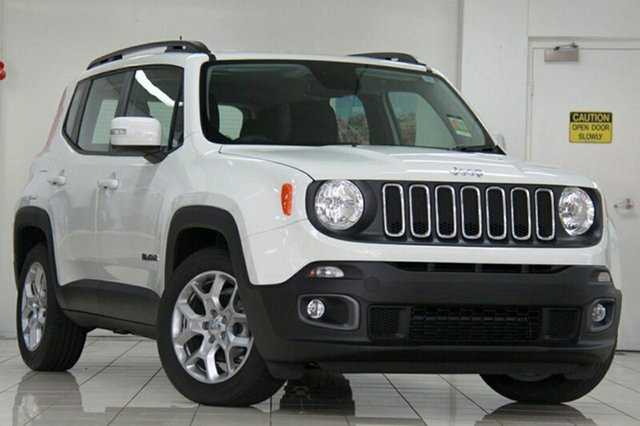 New Jeep Renegade BU MY17 Longitude DDCT, 2017 Jeep Renegade BU MY17 Longitude DDCT Alpine White 6 Speed Sports Automatic Dual Clutch