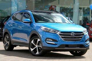 2018 Hyundai Tucson TLE2 MY18 Highlander AWD Ara Blue 6 Speed Sports Automatic Wagon.