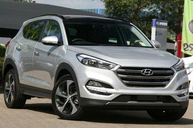 New Hyundai Tucson TLE2 MY18 Highlander D-CT AWD, 2018 Hyundai Tucson TLE2 MY18 Highlander D-CT AWD Platinum Silver Metallic 7 Speed