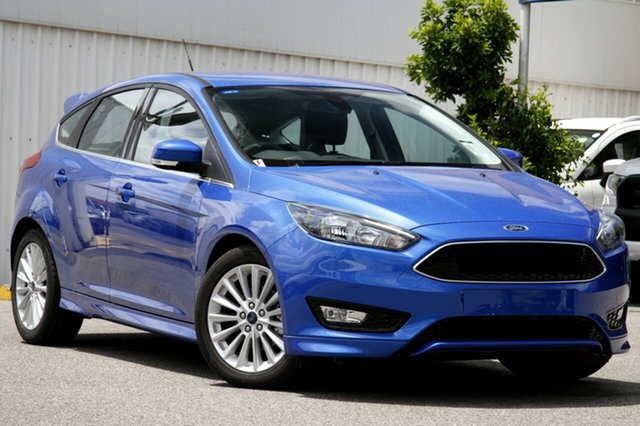 New Ford Focus LZ Sport, 2017 Ford Focus LZ Sport Winning Blue 6 Speed Automatic Hatchback