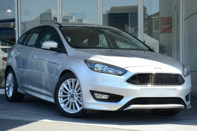New Ford Focus LZ Sport, 2017 Ford Focus LZ Sport Ingot Silver 6 Speed Automatic Hatchback