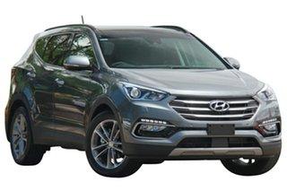 2017 Hyundai Santa Fe DM5 MY18 Highlander Titanium Silver 6 Speed Sports Automatic Wagon.