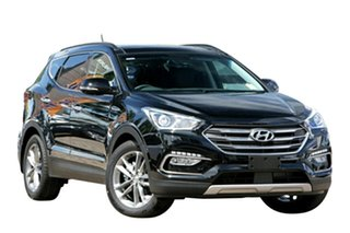 2017 Hyundai Santa Fe DM5 MY18 Highlander Phantom Black 6 Speed Sports Automatic Wagon.