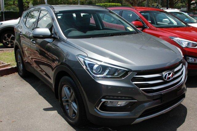 New Hyundai Santa Fe DM3 MY17 Active, 2017 Hyundai Santa Fe DM3 MY17 Active Titanium Silver 6 Speed Sports Automatic Wagon