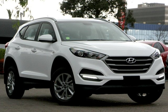 New Hyundai Tucson TL4 MY20 Active AWD, 2019 Hyundai Tucson TL4 MY20 Active AWD Pure White 8 Speed Sports Automatic Wagon