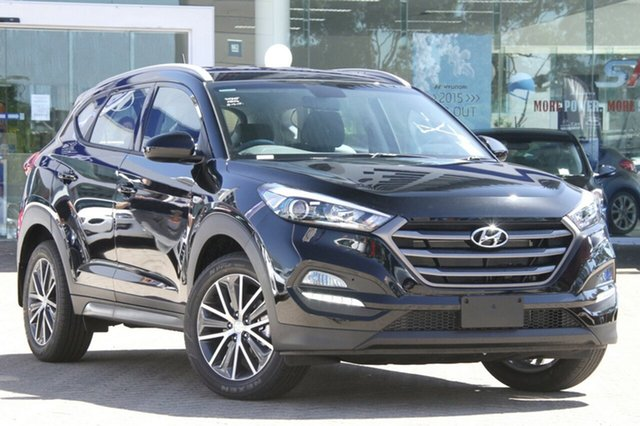 New Hyundai Tucson TL MY18 Active X 2WD Albion, 2017 Hyundai Tucson TL MY18 Active X 2WD Phantom Black 6 Speed Sports Automatic Wagon