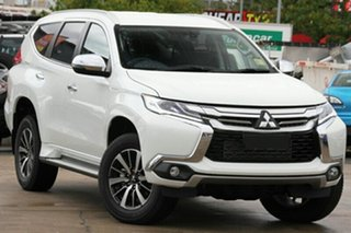 2018 Mitsubishi Pajero Sport QE MY18 GLS White 8 Speed Automatic.