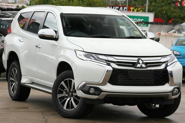 New Mitsubishi Pajero Sport QE MY19 GLS, 2018 Mitsubishi Pajero Sport QE MY19 GLS White 8 Speed Sports Automatic Wagon