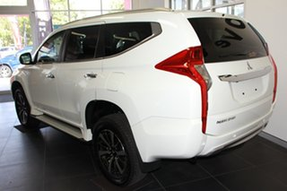 2019 Mitsubishi Pajero Sport QE MY19 GLX White 8 Speed Sports Automatic Wagon.