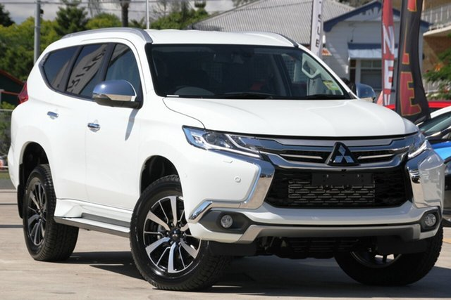 New Mitsubishi Pajero Sport QE MY18 Exceed, 2018 Mitsubishi Pajero Sport QE MY18 Exceed White 8 Speed Sports Automatic Wagon