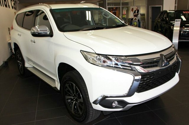 New Mitsubishi Pajero Sport QE MY19 GLX, 2018 Mitsubishi Pajero Sport QE MY19 GLX White 8 Speed Sports Automatic Wagon
