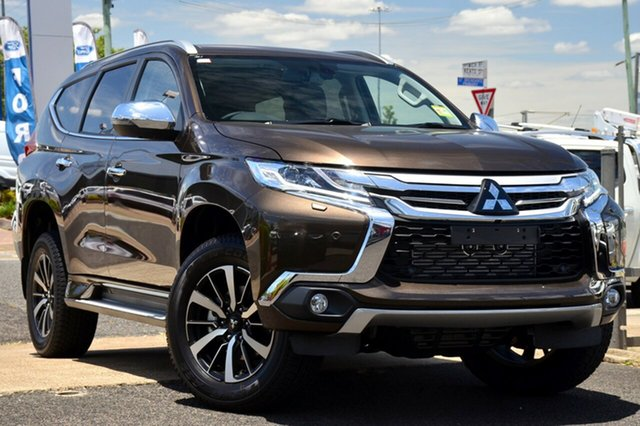 New Mitsubishi Pajero Sport QE MY19 Exceed (4x4) 7 Seat, 2019 Mitsubishi Pajero Sport QE MY19 Exceed (4x4) 7 Seat Deep Bronze 8 Speed Automatic Wagon