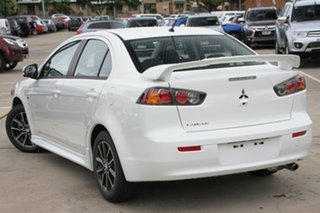 2017 Mitsubishi Lancer CF MY17 ES White 6 Speed Continuous Variable Sedan.