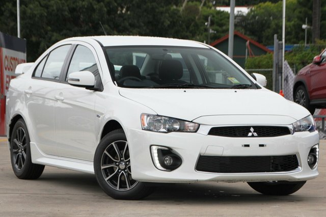 New Mitsubishi Lancer CF MY17 ES Sport, 2017 Mitsubishi Lancer CF MY17 ES Sport White 6 Speed Constant Variable Sedan