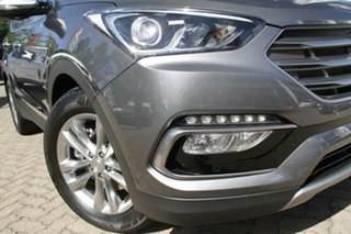2016 Hyundai Santa Fe DM3 MY17 Elite Titanium Silver 6 Speed Sports Automatic Wagon.