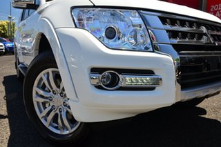 2021 Mitsubishi Pajero NX MY21 GLX White 5 Speed Sports Automatic Wagon.