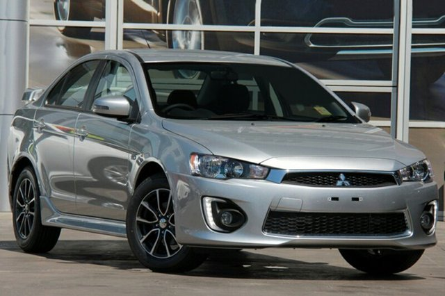 New Mitsubishi Lancer CF MY17 ES Sport, 2017 Mitsubishi Lancer CF MY17 ES Sport Sterling Silver 6 Speed Constant Variable Sedan
