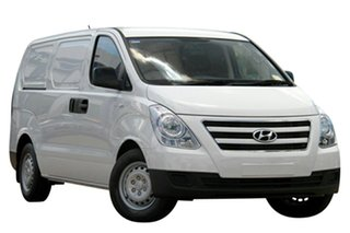 2017 Hyundai iLOAD TQ3-V Series II MY18 Creamy White 6 Speed Manual Van.