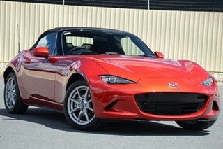 2021 Mazda MX-5 ND SKYACTIV-Drive Soul Red Crystal 6 Speed Sports Automatic Roadster.