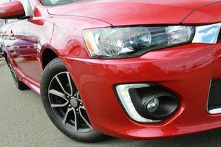 2017 Mitsubishi Lancer CF MY17 ES Sport Red 6 Speed Constant Variable Sedan.