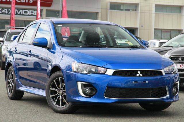 New Mitsubishi Lancer CF MY17 ES Sport, 2017 Mitsubishi Lancer CF MY17 ES Sport Lightning Blue 6 Speed Constant Variable Sedan