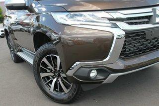 2018 Mitsubishi Pajero Sport MY18 GLS (4x4) 7 Seat Deep Bronze 8 Speed Automatic Wagon.