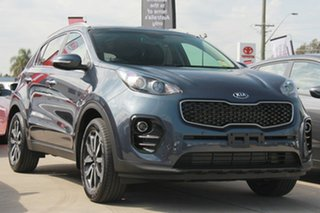 2018 Kia Sportage QL MY18 SLi 2WD Mercury Blue 6 Speed Sports Automatic Wagon.