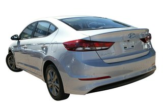 2018 Hyundai Elantra AD MY18 Active Platinum Silver 6 Speed Manual Sedan.