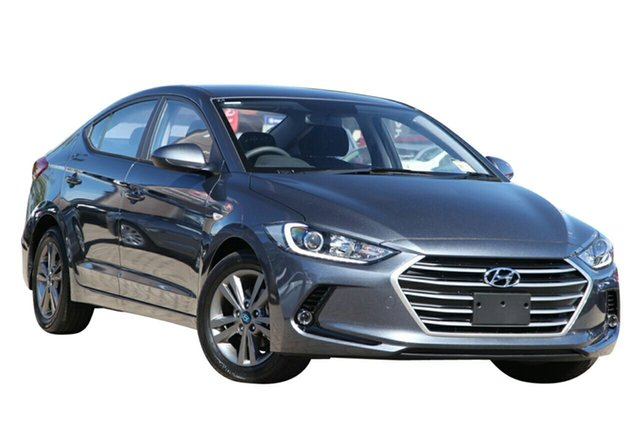 New Hyundai Elantra AD MY18 Active, 2018 Hyundai Elantra AD MY18 Active Iron Grey 6 Speed Sports Automatic Sedan
