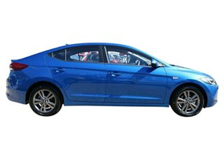 2017 Hyundai Elantra AD MY18 Active Marina Blue 6 Speed Sports Automatic Sedan