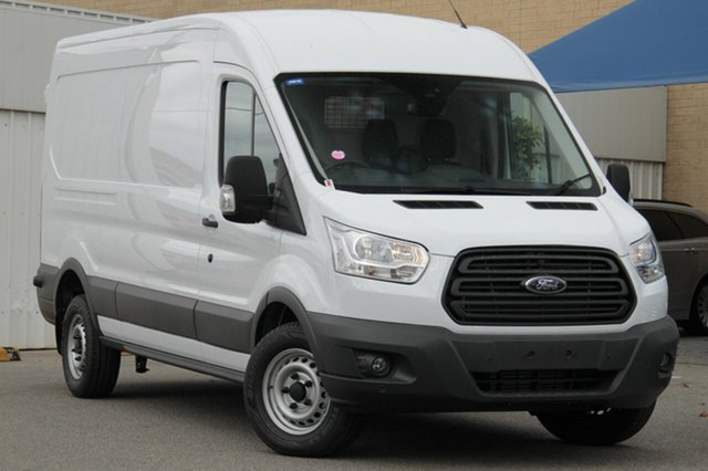 New Ford Transit VO 350L Mid Roof LWB, 2017 Ford Transit VO 350L Mid Roof LWB Frozen White 6 Speed Manual Van