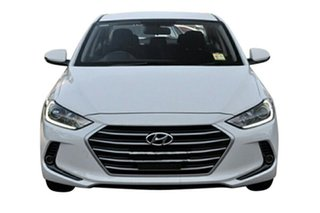 2017 Hyundai Elantra AD MY17 Active Polar White 6 Speed Sports Automatic Sedan