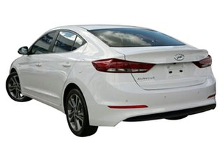 2017 Hyundai Elantra AD MY17 Elite Polar White 6 Speed Sports Automatic Sedan.