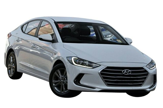 New Hyundai Elantra AD MY17 Active Albion, 2017 Hyundai Elantra AD MY17 Active Polar White 6 Speed Sports Automatic Sedan