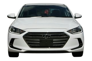 2017 Hyundai Elantra AD MY17 Elite Polar White 6 Speed Sports Automatic Sedan