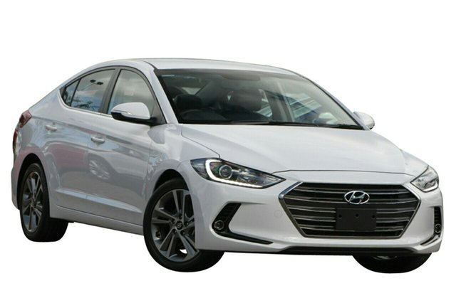 Demo Hyundai Elantra AD MY17 Elite Albion, 2017 Hyundai Elantra AD MY17 Elite Polar White 6 Speed Sports Automatic Sedan