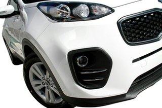 2018 Kia Sportage QL MY18 Si 2WD Clear White 6 Speed Sports Automatic Wagon.