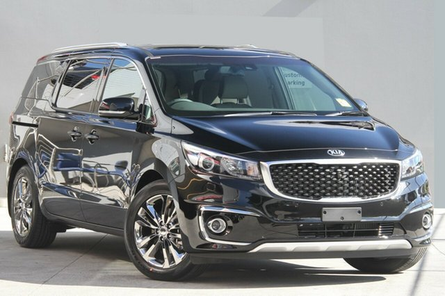New Kia Carnival YP MY20 Platinum, 2019 Kia Carnival YP MY20 Platinum Aurora Black 8 Speed Sports Automatic Wagon