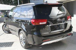 2019 Kia Carnival YP MY20 Platinum Aurora Black 8 Speed Sports Automatic Wagon.
