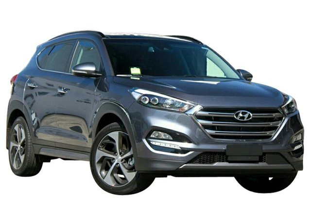 New Hyundai Tucson TLE2 MY18 Highlander D-CT AWD, 2018 Hyundai Tucson TLE2 MY18 Highlander D-CT AWD Pepper Grey 7 Speed Sports Automatic Dual Clutch
