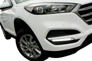 2017 Hyundai Tucson TL2 MY18 Active AWD Pure White 6 Speed Sports Automatic Wagon.