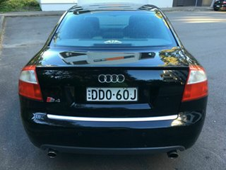 2004 Audi S4 B6 Quattro Black 6 Speed Manual Sedan