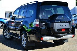 2021 Mitsubishi Pajero NX MY21 GLS Pitch Black 5 Speed Sports Automatic Wagon.