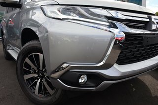 2019 Mitsubishi Pajero Sport QE MY19 GLX Sterling Silver 8 Speed Sports Automatic Wagon.