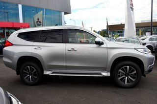 2019 Mitsubishi Pajero Sport QE MY19 GLX Sterling Silver 8 Speed Sports Automatic Wagon