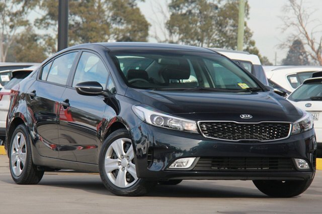 New Kia Cerato YD MY18 S, 2017 Kia Cerato YD MY18 S Planet Blue 6 Speed Sports Automatic Sedan