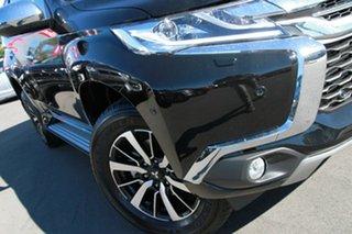 2018 Mitsubishi Pajero Sport QE MY19 Exceed Pitch Black 8 Speed Sports Automatic Wagon.