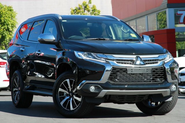 New Mitsubishi Pajero Sport QE MY19 Exceed, 2019 Mitsubishi Pajero Sport QE MY19 Exceed Pitch Black 8 Speed Sports Automatic Wagon